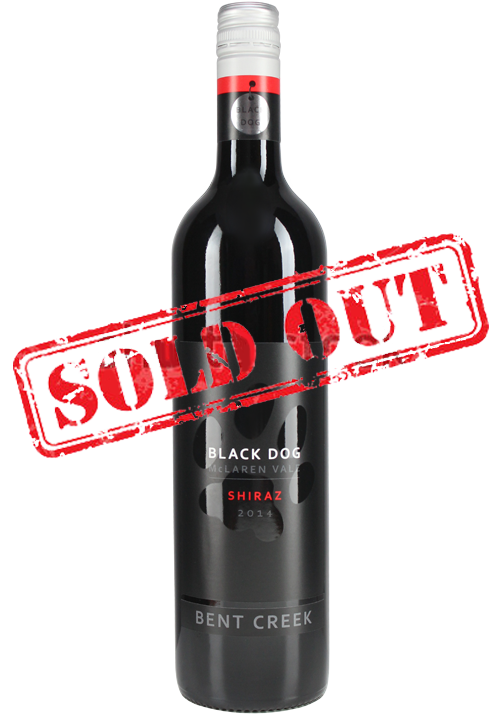 2014 Black Dog Shiraz Sold Out